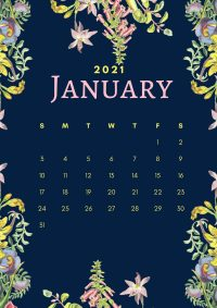 January 2021 Wallpaper 11