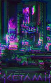 Glitch Effect Wallpaper 39