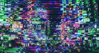 Glitch Effect Wallpaper 10