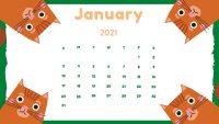 January 2021 Wallpaper 4