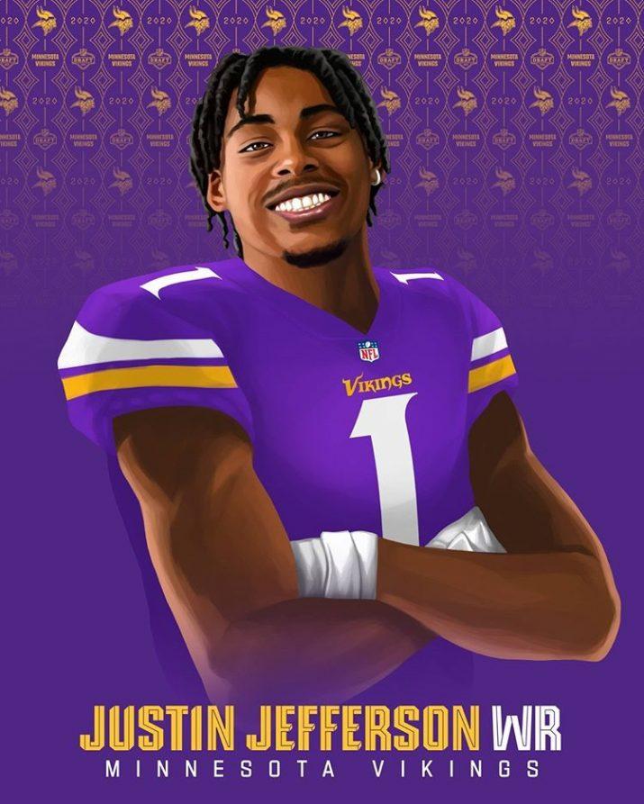Justin Jefferson Wallpaper 1