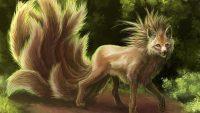 Nine Tailed Fox Wallpaper 33