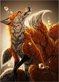 Nine Tailed Fox Wallpaper 35