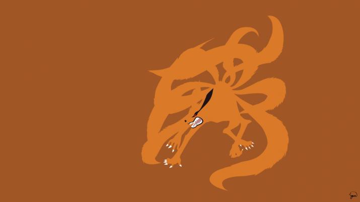 Nine Tailed Fox Wallpaper 1