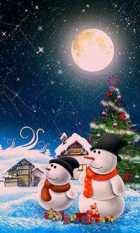 Snowman Wallpaper 5
