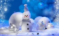 Snowman Wallpaper 4