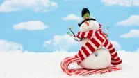 Snowman wallpaper 20