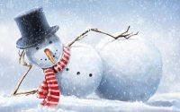 Snowman Wallpaper 10