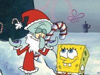 Spongebob Christmas Wallpaper 17