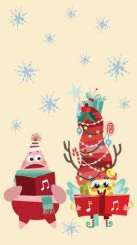 Spongebob Christmas Wallpaper 25