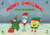 Spongebob Christmas Wallpaper 24