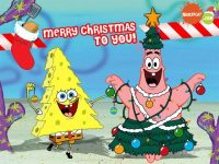 Spongebob Christmas Wallpaper 30