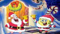 Spongebob Christmas wallpaper 4