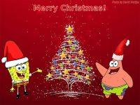 Spongebob Christmas wallpaper 6