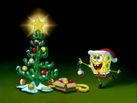 Spongebob Christmas wallpaper 7