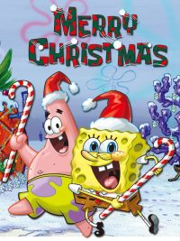 Spongebob Christmas wallpaper 8