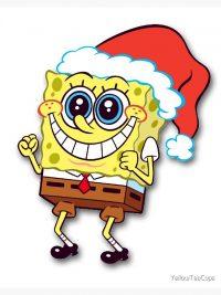 Spongebob Christmas wallpaper 12
