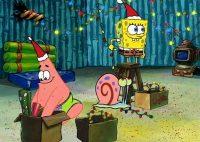 Spongebob Christmas Wallpaper 14