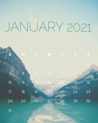 January 2021 Wallpaper 12