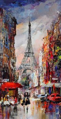 Eiffel Art Wallpaper 14