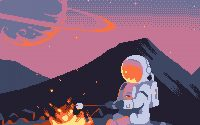 Astronaut Art Wallpaper 3