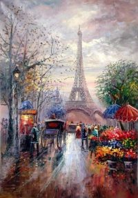 Eiffel Art Wallpaper 27