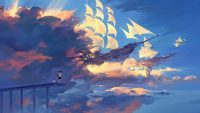 Sailing Ship Art Wallpaper 1