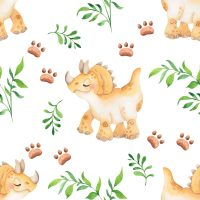 Cute Dinosaur Wallpaper 13