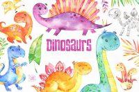 Cute Dinosaur Wallpaper 6