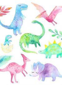 Cute Dinosaur Wallpaper 18