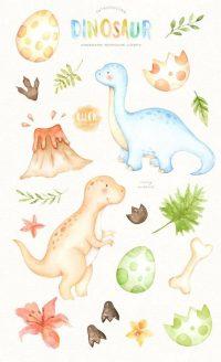 Cute Dinosaur Wallpaper 17