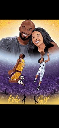 Kobe And Gigi Wallpaper 1