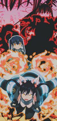 Tamaki Fire Force Wallpaper 4