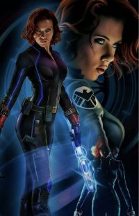 Black Widow Wallpaper 4