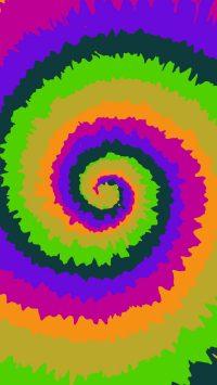 Tie Dye Wallpaper 1