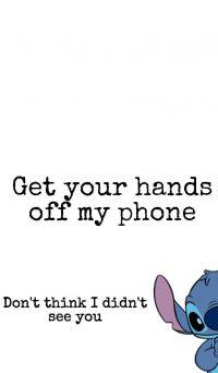 Get Off My Phone Wallpaper 10