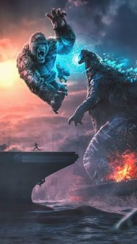 Godzilla vs Kong Wallpaper 7