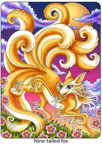 Nine Tailed Fox Wallpaper 5