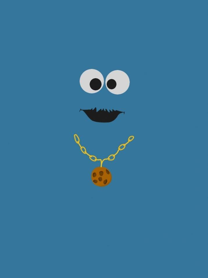 Cookie Monster Wallpaper 1