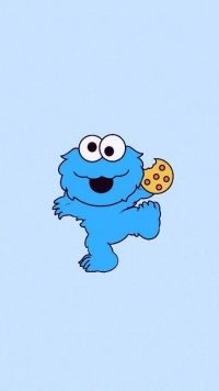 Cookie Monster Wallpaper 2