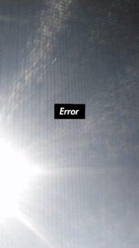 Error Wallpaper 7