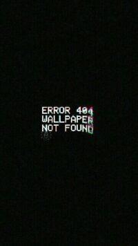 Error Wallpaper 3