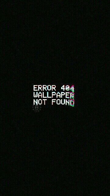Error Wallpaper 1