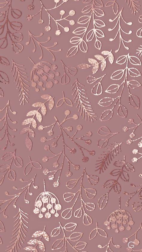 Rose Gold Wallpaper 1