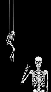 Skeleton Wallpaper 3