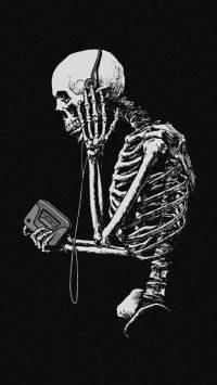 Skeleton Wallpaper 1