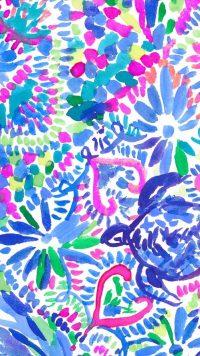 Blue Preppy Wallpaper 13