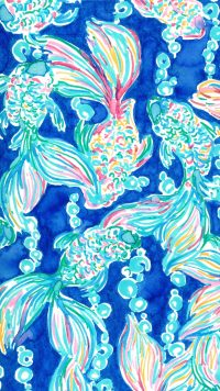 Blue Preppy Wallpaper 4