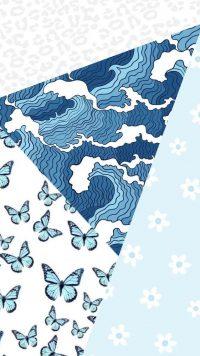 Blue Preppy Wallpaper 32