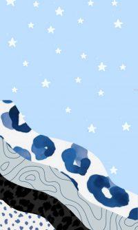 Blue Preppy Wallpaper 27